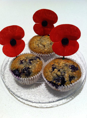 ANZAC Blueberry Muffins-971