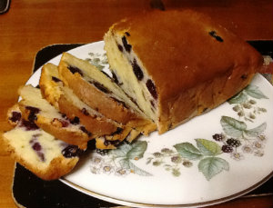 Blueberry and Yoghurt Pottle Cake